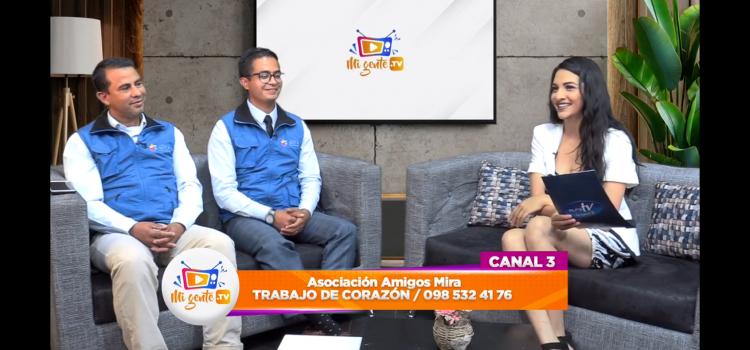 ALFA TV Ecuador entrevistó a Amigos Mira por el Foro para colombianos en el Ecuador