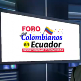Amigos Mira realizó foro online para colombianos residentes en Ecuador