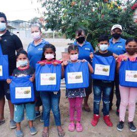 Nuestra Causa «Ayudar» se hizo presente con donativos en Sector Sergio Toral
